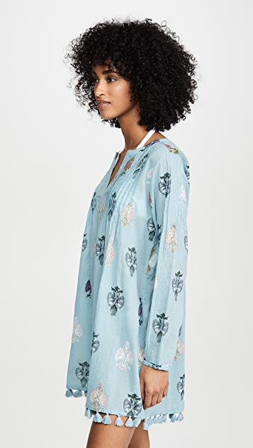 Roller Rabbit Klokke Flower Ziva 长衫式连衣裙