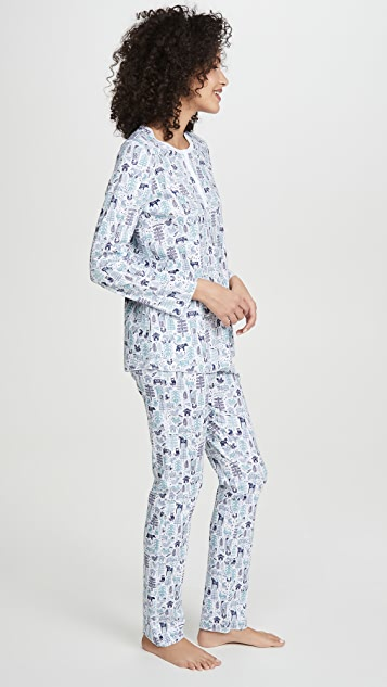 Roller Rabbit Nordic Folk Pajamas
