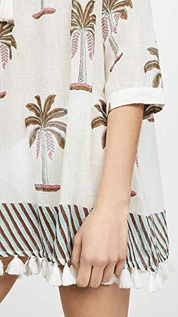 Roller Rabbit Morjim Palm Venezia Tunic