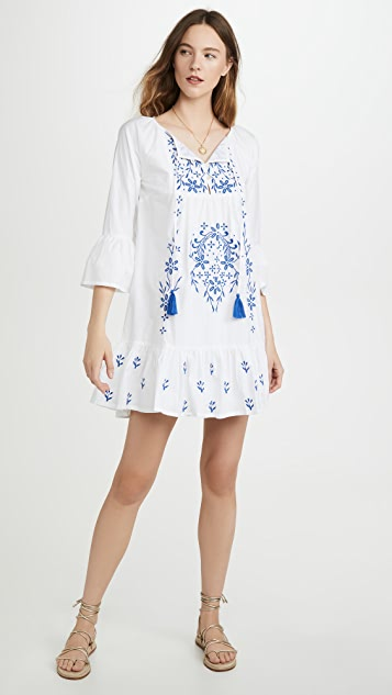 Roller Rabbit Embroidered Maricruz Dress