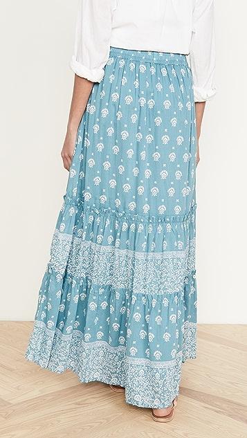 Roller Rabbit Tashi Border Olianna Skirt