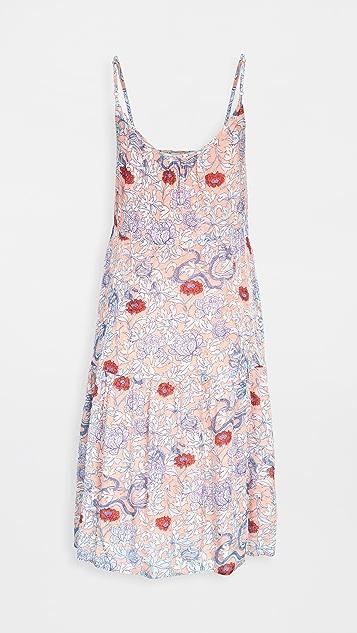 Roller Rabbit Druk Floral Dakota 连衣裙
