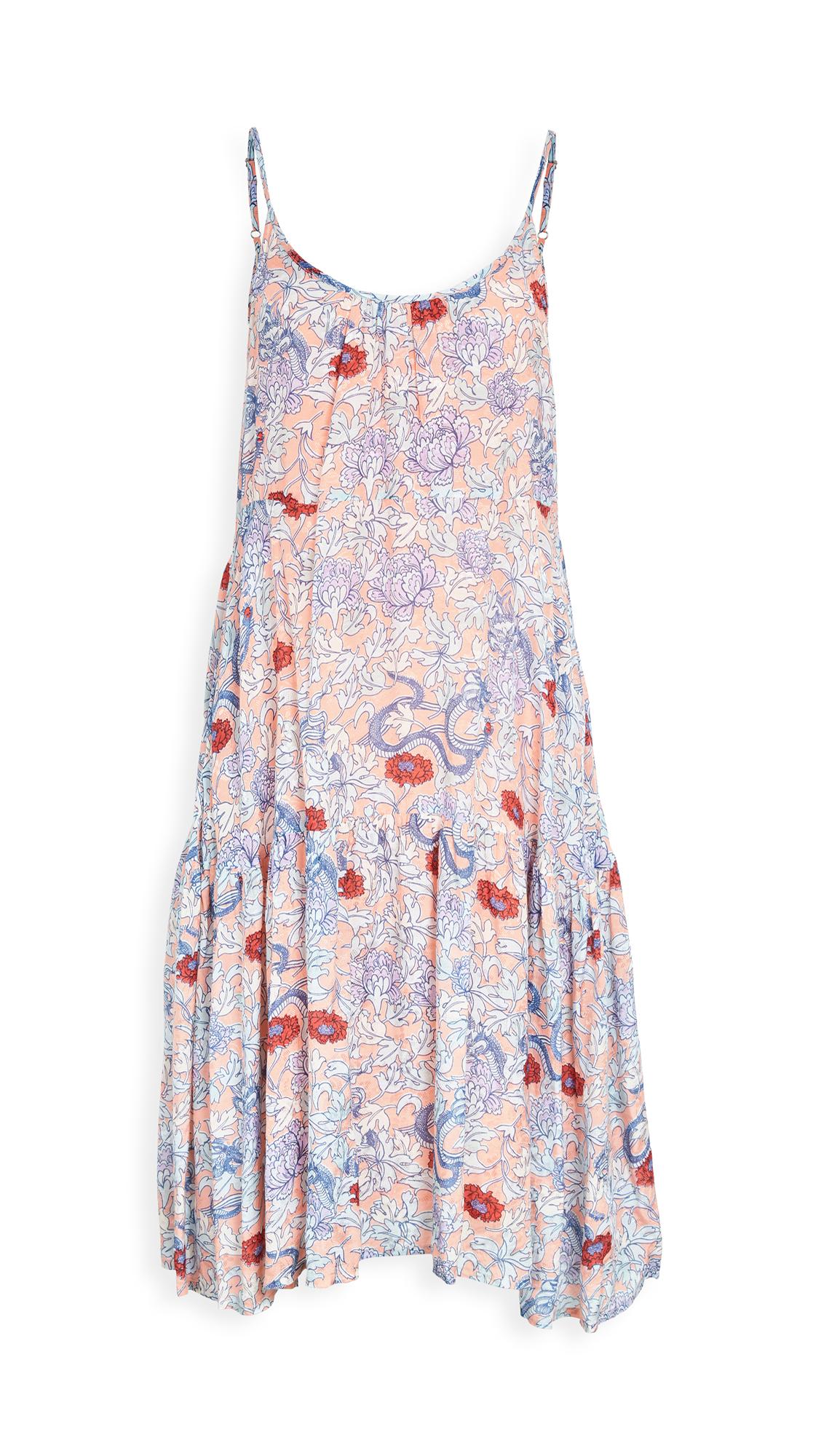 Roller Rabbit Druk Floral Dakota Dress
