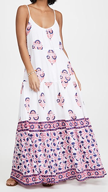 Roller Rabbit Sanu Floral Dakota Maxi Dress