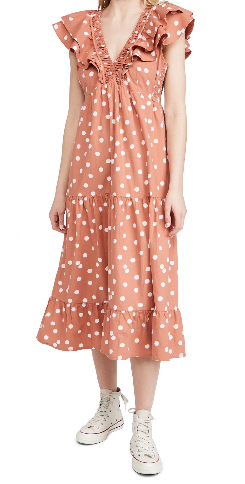Roller Rabbit Polka Dot Ondine Dress