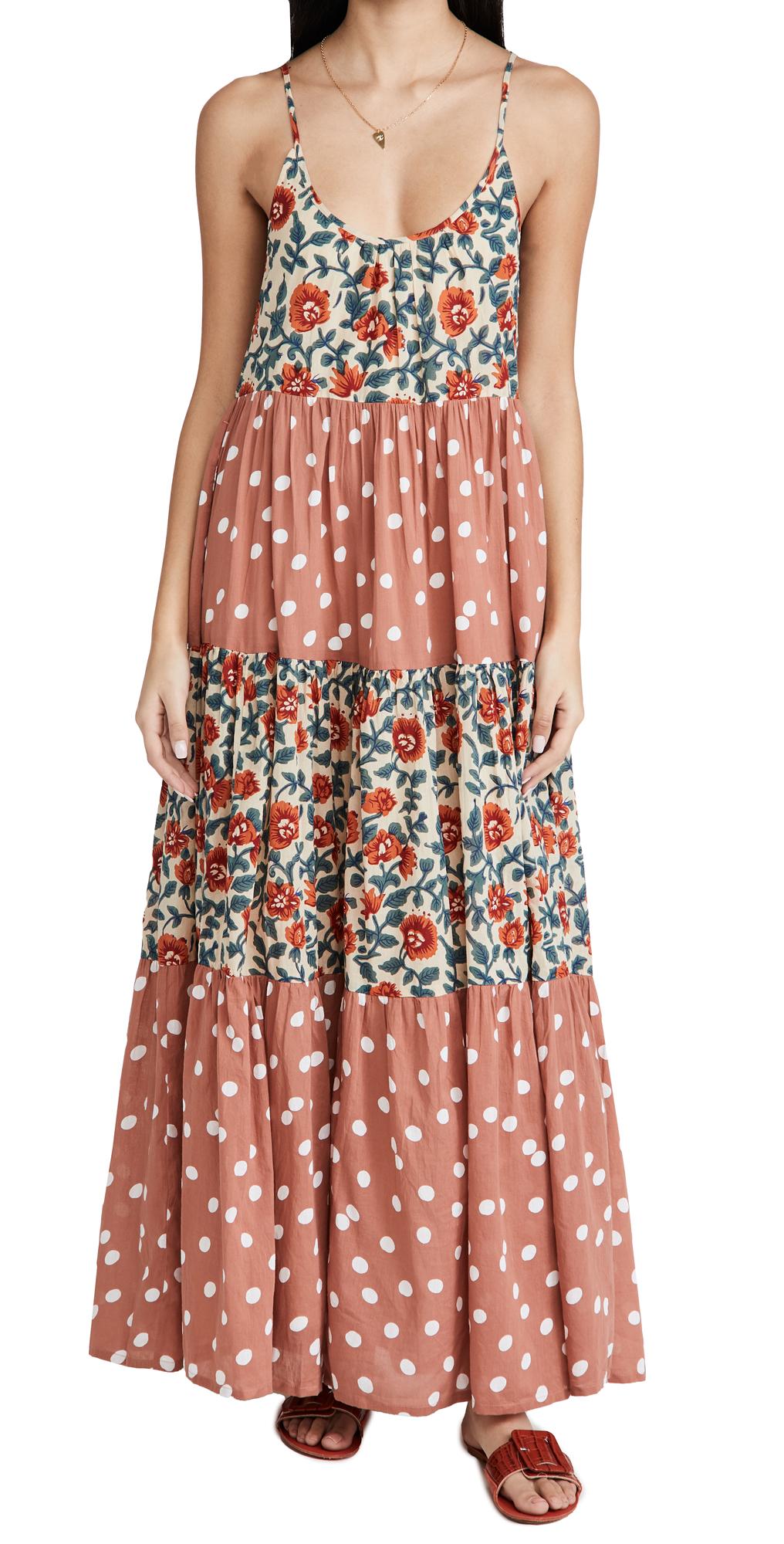 Roller Rabbit Rosetone Dakota Maxi Dress