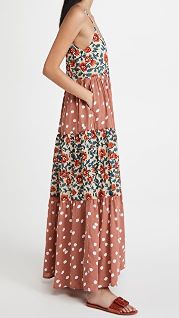 Roller Rabbit Rosetone Dakota Maxi Dress