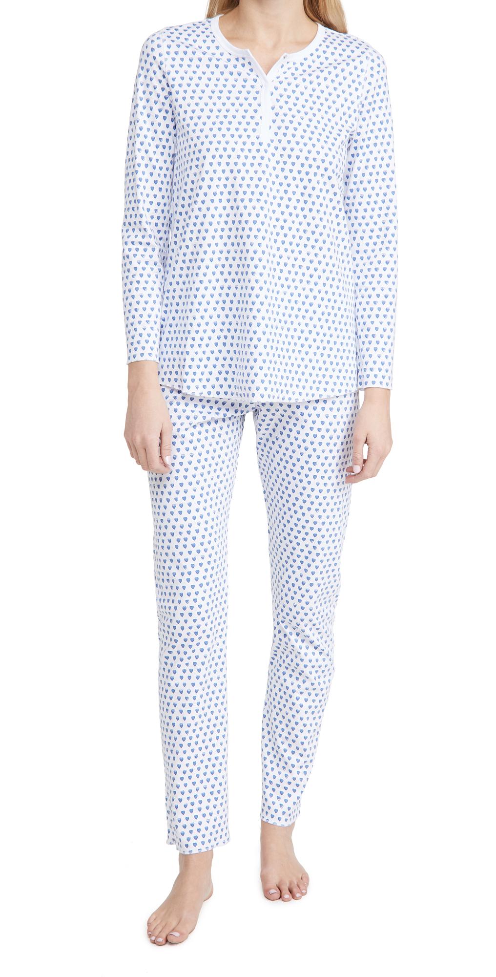 Roller Rabbit Hearts Pajama Set