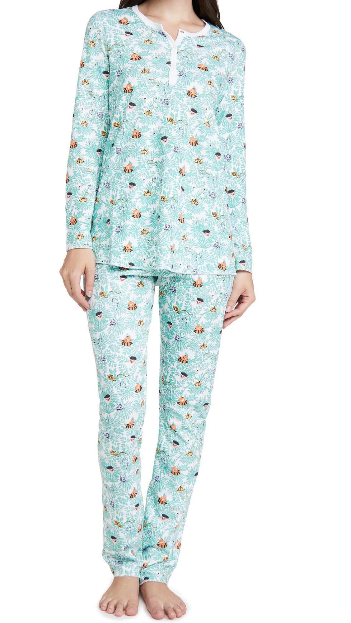 Roller Rabbit Heads & Tails Pajamas