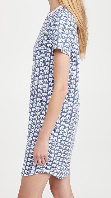 Roller Rabbit Hathi T 恤连衣裙