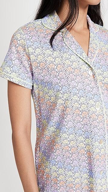 Roller Rabbit Disco Hathi Polo Pajama Set