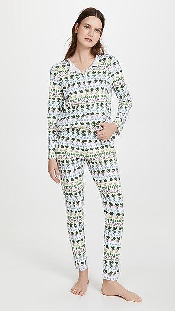 Roller Rabbit 派对睡衣