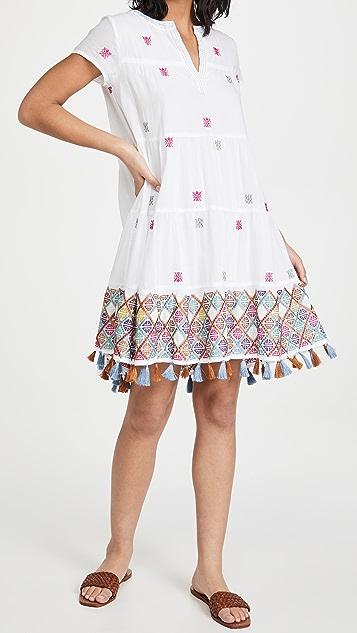 Roller Rabbit Kurtoe Embroidery Pamela Dress