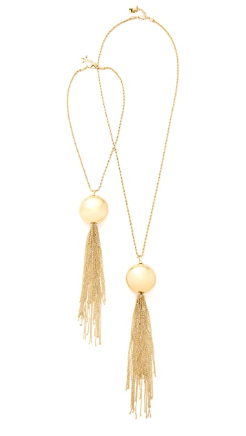 Milite Pearl And Charm Necklace Rosantica Dftc6yDK
