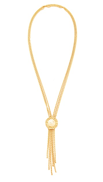 Rosantica Chain Lariat Necklace