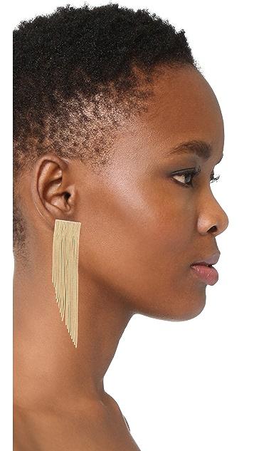 Rosantica Chain Linear Drop Earrings