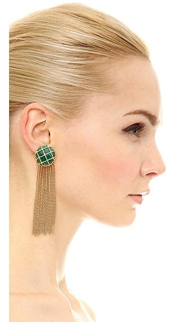 Rosantica Cage Fringe Earrings