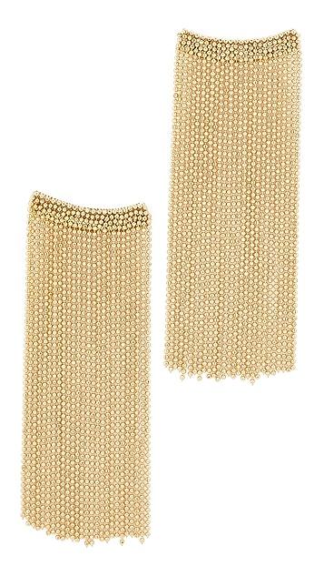 Rosantica Square Chain Dangle Earrings