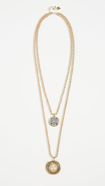 Rosantica Ciucciue Detachable Double Pendant Necklace