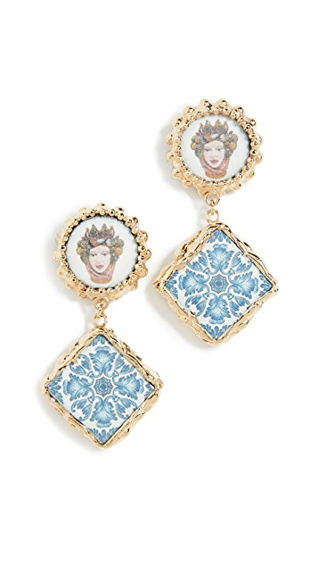Rosantica Ciucciue Stud Earrings