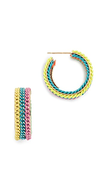 Rosantica Millefili Hoop Earrings