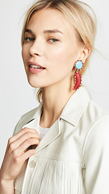 Rosantica Colorful Earrings