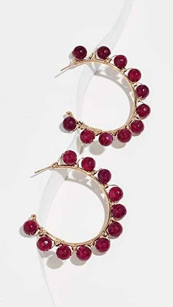 Rosantica Dada Hoop Earrings