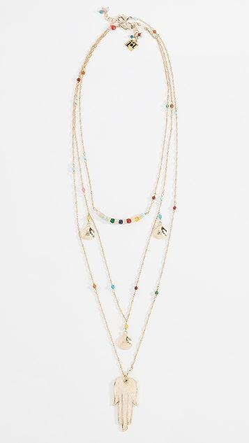 Rosantica Brazil Layer Necklace