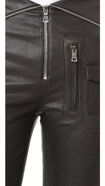 RtA Diavolina Leather Pants