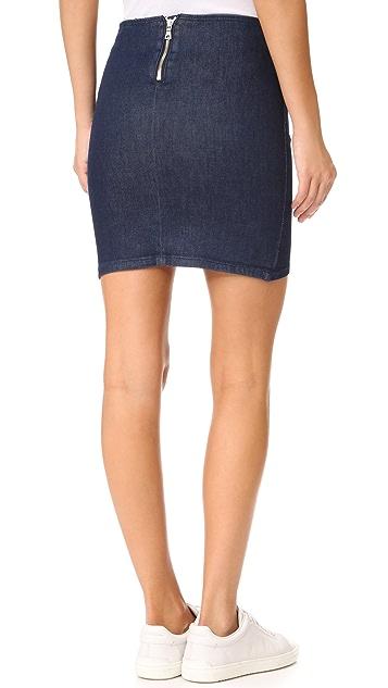 RtA Ivy Zipper Skirt