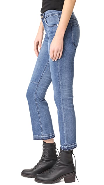 RtA Kiki Released Hem Jeans