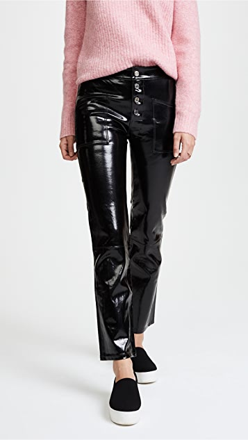 558d741b76e7 RtA Theadora Patent Leather Pants