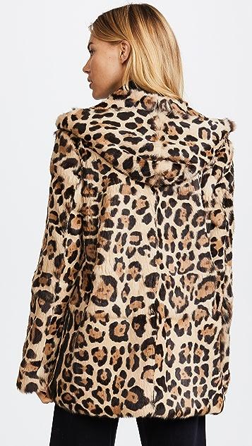RtA Henri Leopard Jacket