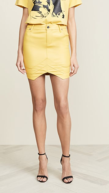 RtA Tempest Skirt - Electric Yellow