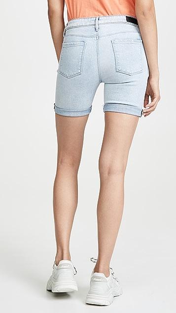 RtA Toure 牛仔布及膝短裤