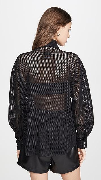 RtA Josie Half-Zip Shirt
