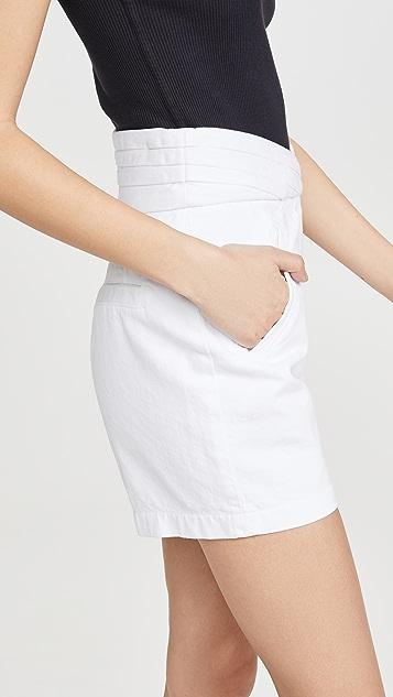 RtA Ellena 裥褶腰部短裤