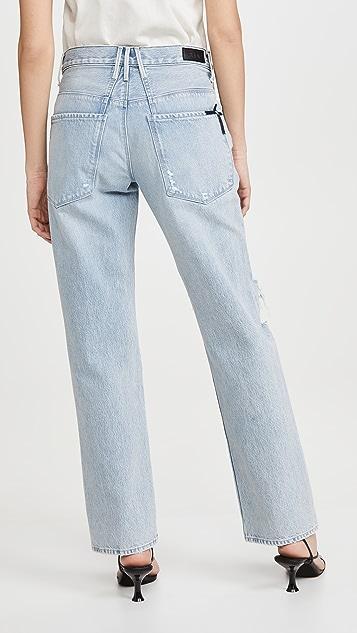 RtA Dexter 系腰带宽松长裤