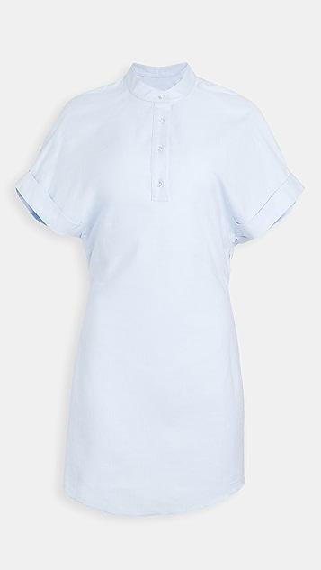 RtA Leigh Half Button Shirt Dress