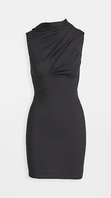 RtA Holly-Twisted 平纹针织连衣裙