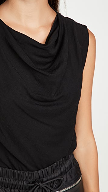 RtA Selma Cowl Neck Top