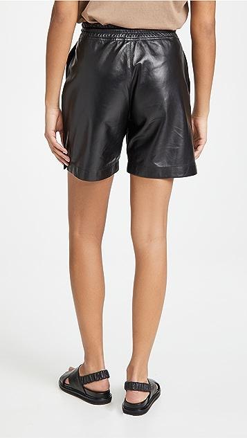 RtA Camden 皮短裤