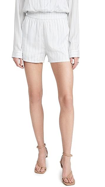 RtA Edwinna Silk Shorts