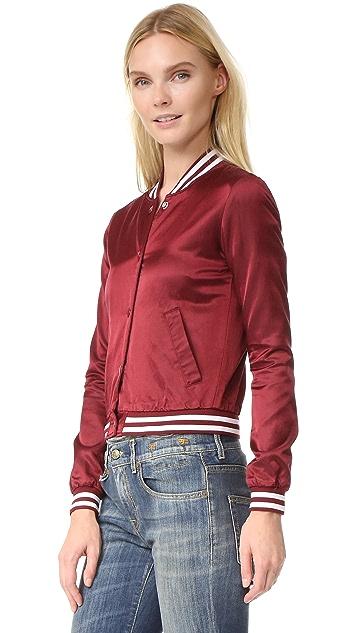 R13 Shrunken Roadie Jacket