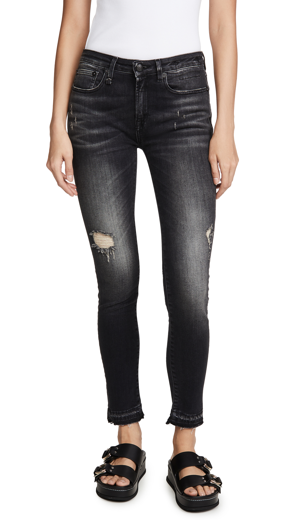 R13 Alison Cropped Jeans