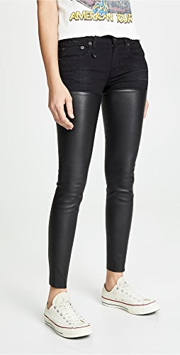 R13 - Leather Chaps 牛仔裤