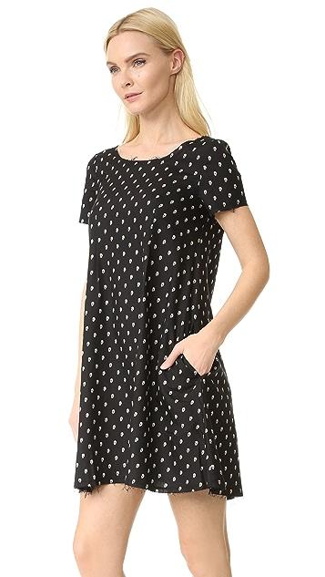 R13 Babydoll Mini Dress