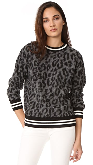 R13 Leopard Sweater