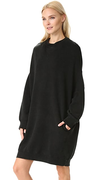 R13 Grunge Sweatshirt Dress