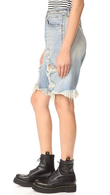 R13 Twister Shorts